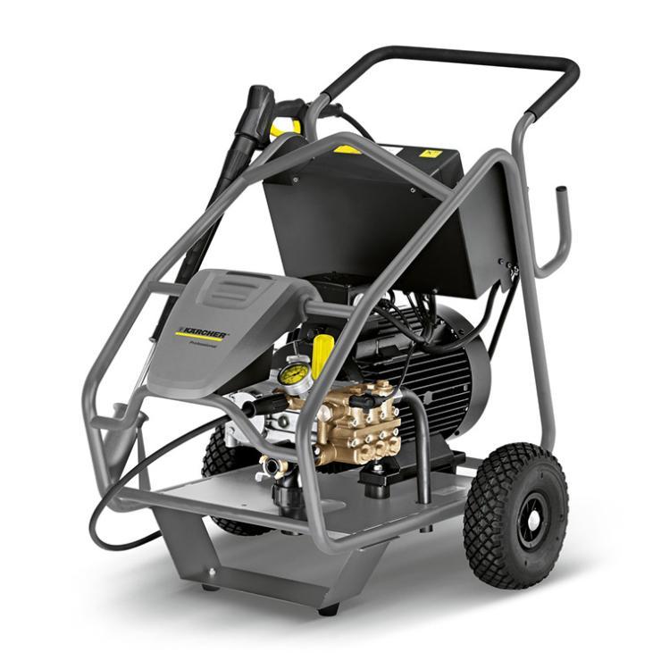 500公斤超高压清洗机清洗水泥重污垢 德国凯驰HD9