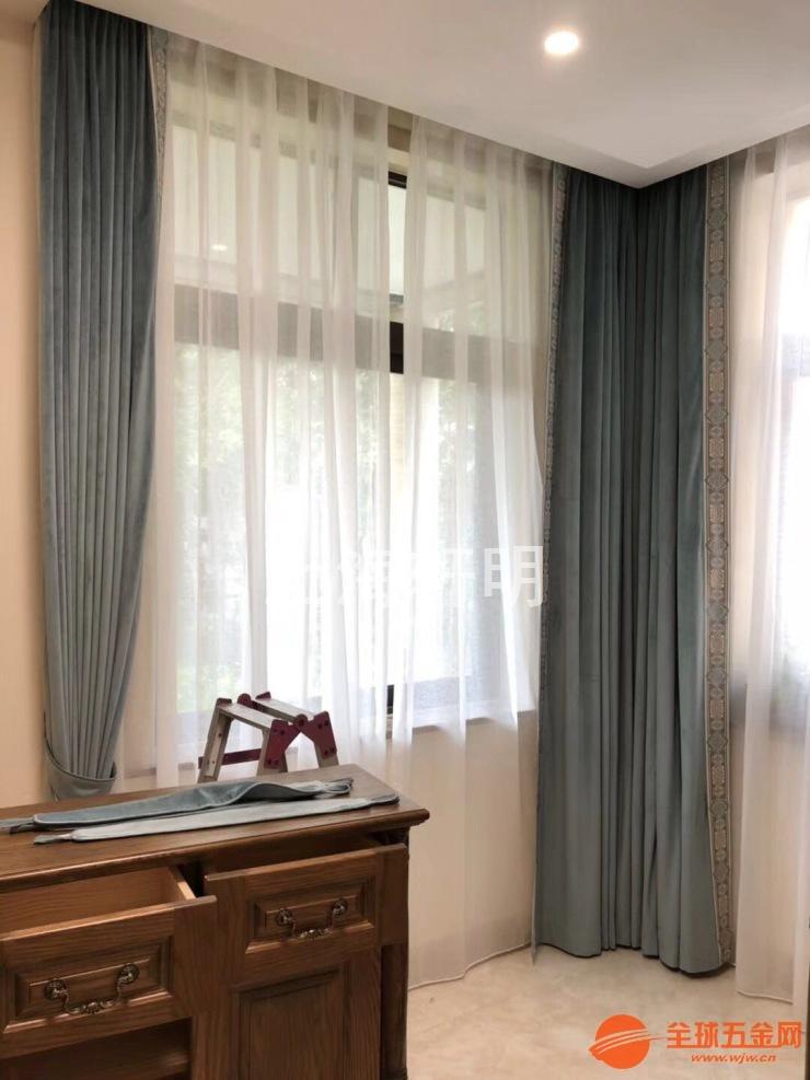 嘉兴别墅室内电动窗帘生产批发厂家最新报价
