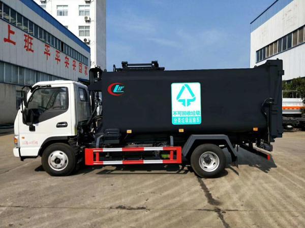 自来水公司5吨自卸式污泥车报价