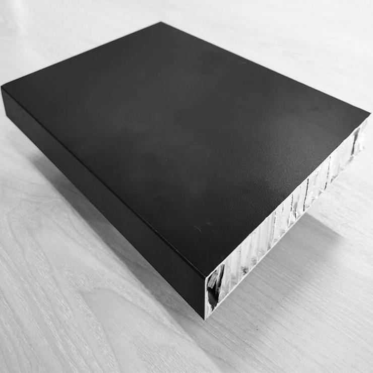 圖紙要求廠家直銷隱膠縫干掛建筑幕墻用25厚蜂窩鋁板