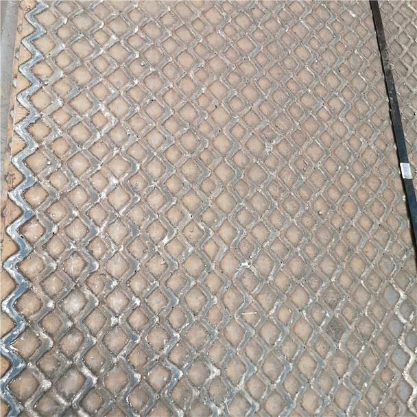 晶鼎牌双金属耐磨复合网格钢板