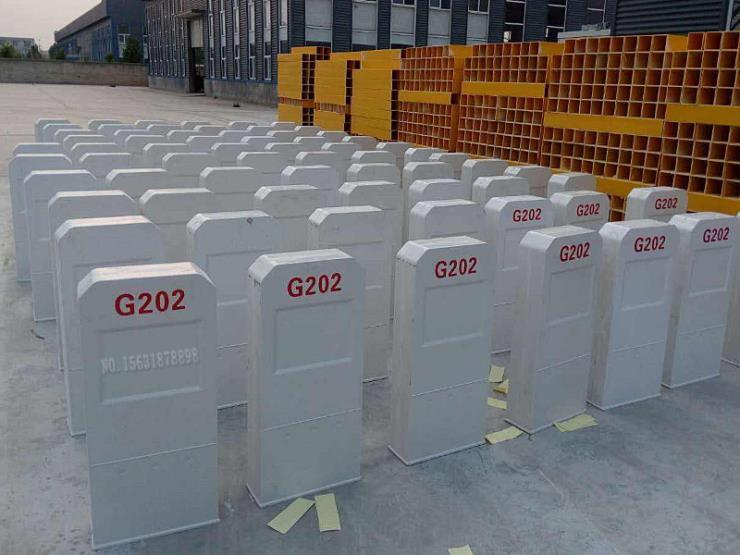 120*120*550百米樁玻璃鋼里程碑