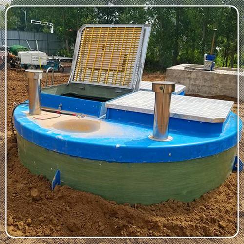 金�_�^污水提升器玻璃��A制泵站