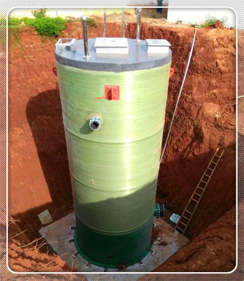 岐山縣玻璃鋼一體化污水泵站質優價廉