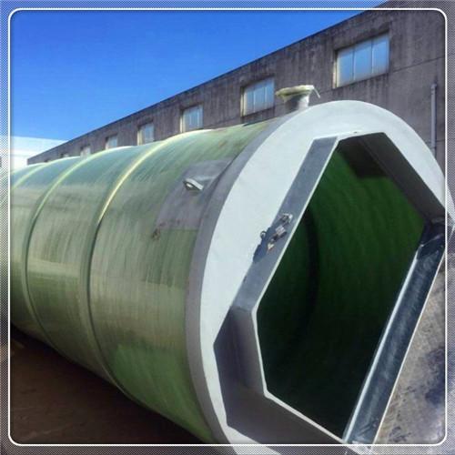 徐水縣玻璃鋼一體化泵站歡迎溝通交流
