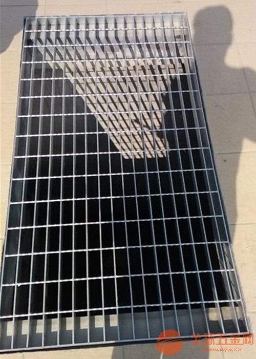 镀锌钢格栅板沟盖板多少钱|停车场专用平台镀锌钢格栅板