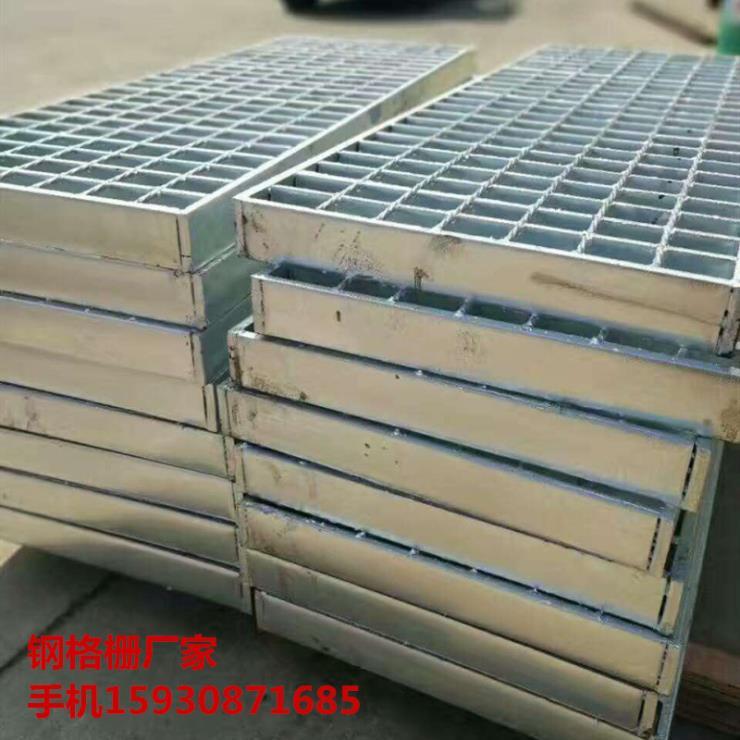 复合钢格栅 钢格栅板厂家 天津花纹板钢格栅