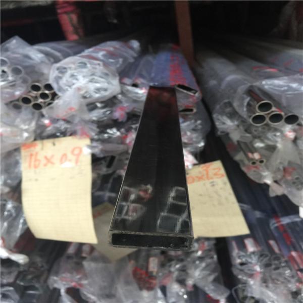 乌伊岭区304材质不锈钢扁管80*60*1.2*2.35*2.8*3.8mm 现货