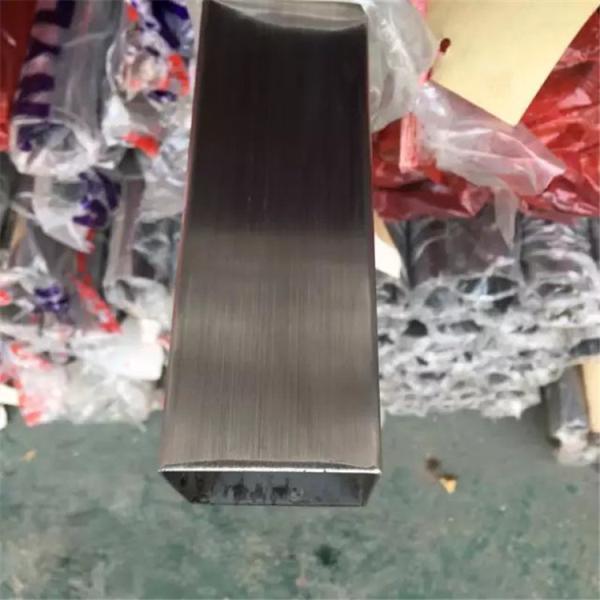 翠峦区304材质不锈钢扁管50*15*0.9*1.05*1.2*1.35mm 现货