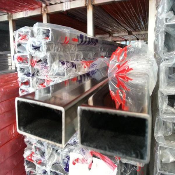 仙游县佛山现货304不锈钢扁管40*80*3.0*4.0*5.0 机械设备用不锈钢矩管