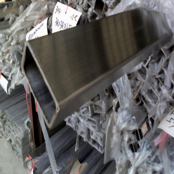 丰泽区佛山现货304不锈钢扁管40*60*1.5*2.0*3.0 机械设备用不锈钢矩管