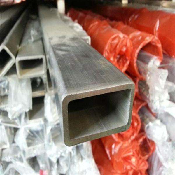肇州縣304材質不銹鋼扁管30*15*0.6*0.8*0.9*1.05mm 6米長