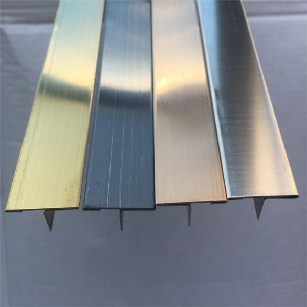 雙鴨山304鏡面T8實心T形不銹鋼條 定制拉絲鈦金