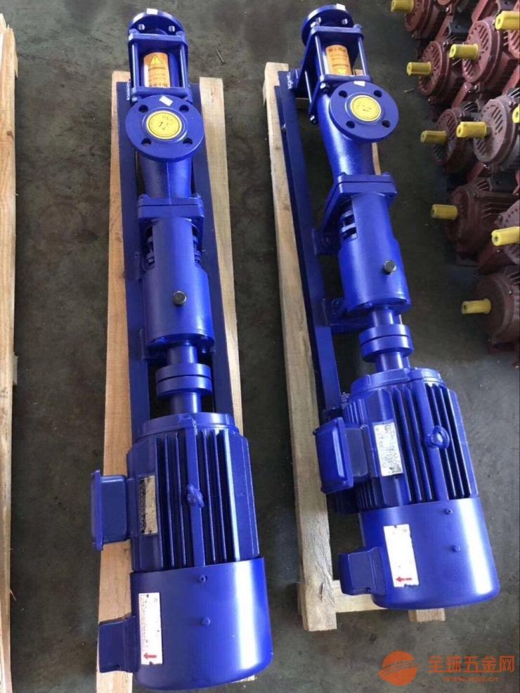 G10-1单螺杆泵,偏心单螺杆泵,污泥螺杆泵
