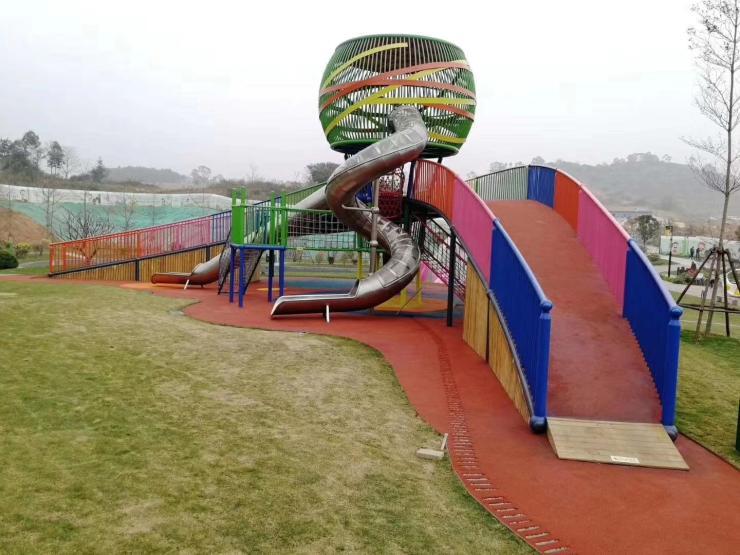 安徽六安大型滑滑梯定制