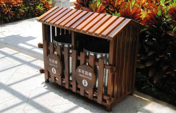 安徽合肥公园垃圾桶厂家