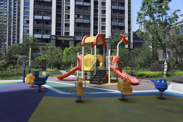 安徽六安幼儿园滑滑梯定做