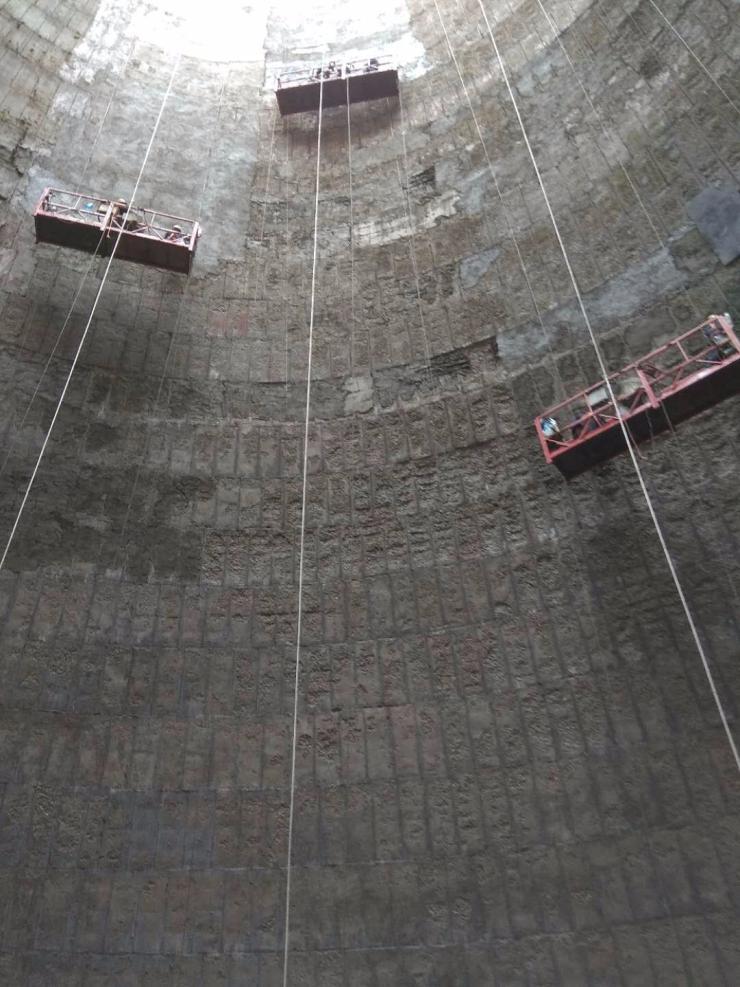 人工拆除脱硫塔阎良值得信赖