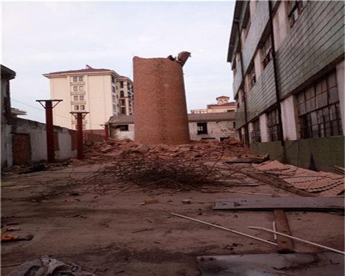 佛山水磨除塵器拆除現場施工