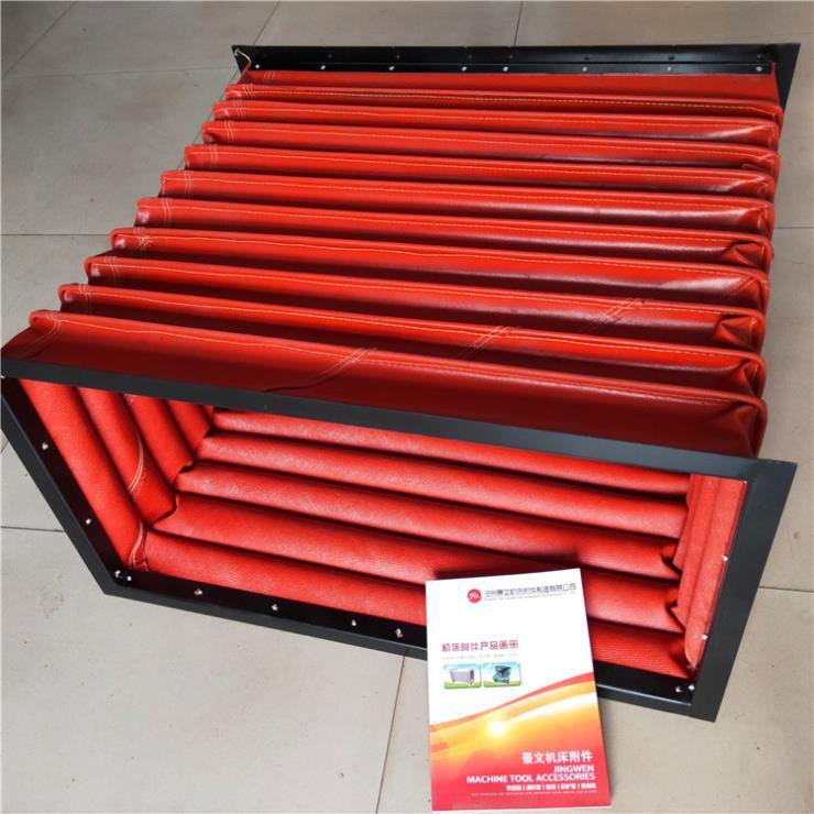 机械设备方形耐温通风口软连接批发价