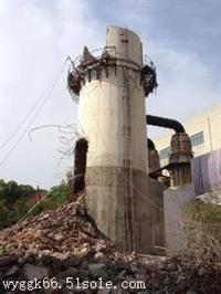 太子河区混泥土烟囱拆除施工队