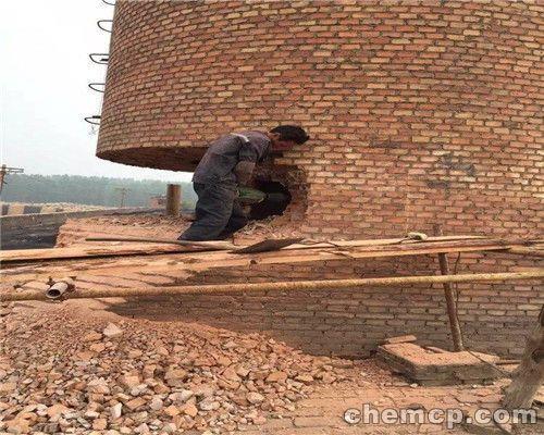 溪湖区45米砖烟囱粉刷 团队素质高