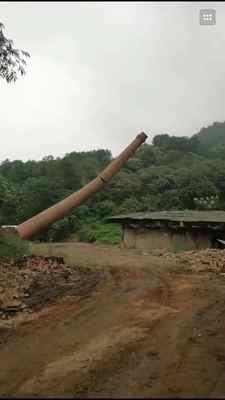阳高县人工拆除烟囱质量保证