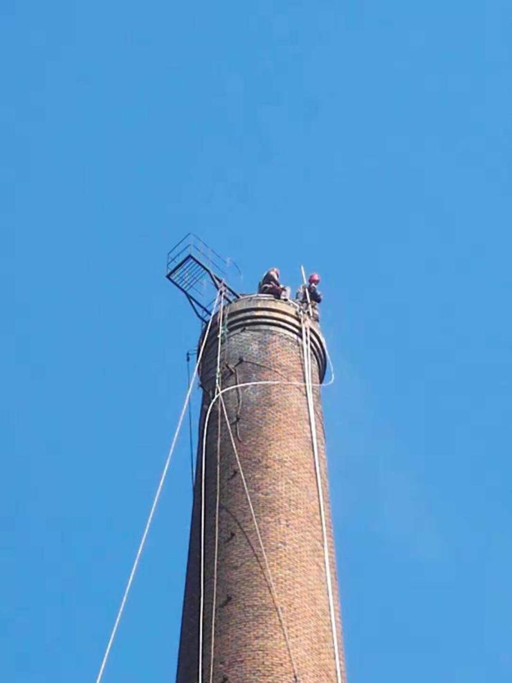 济南烟筒爬梯安装联系方式