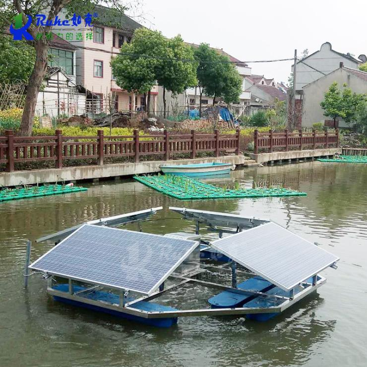 太阳能解层曝气机 解层式光伏太阳能曝气机