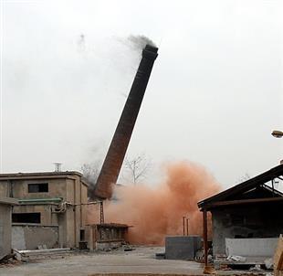 遵义砖烟囱拆除加高打包箍公司