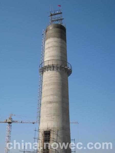 盐田区砖烟囱整体定向拆除