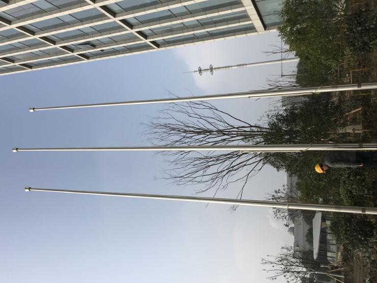 蚌埠12米铝合金旗杆幼稚园旗杆高度规格型号规范多长适合