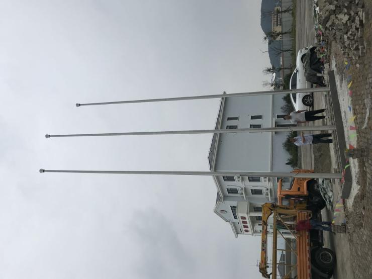 池州内置式铝合金旗杆不锈钢旗杆1米要多少钱