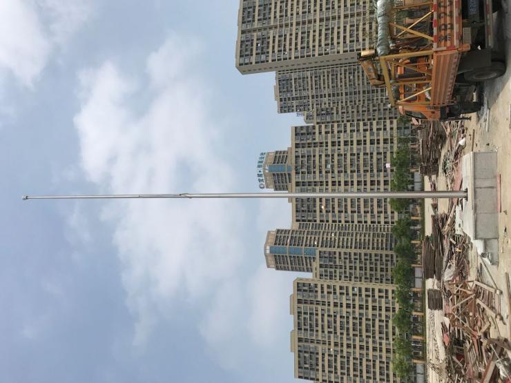 淮北25米铝合金旗杆不锈钢旗杆生产的材料是怎么样
