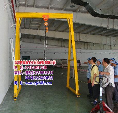 龙门吊架,工厂吊架,钢板吊架