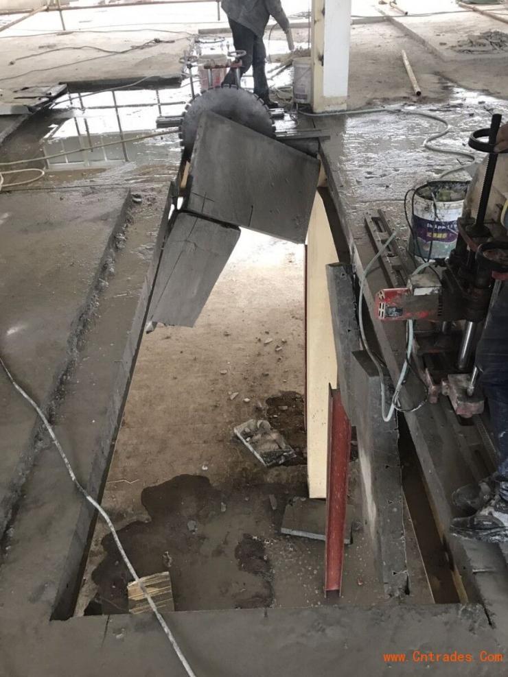 遵化市桥梁切割,钢筋混凝土静力切割