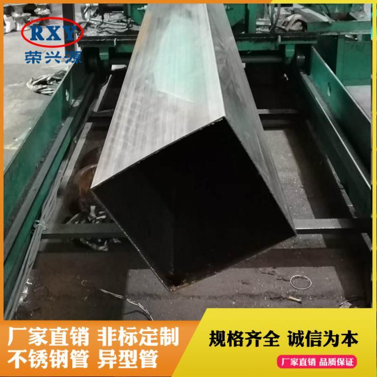 佛山市场不锈钢管厂现货304不锈钢装饰制品方管