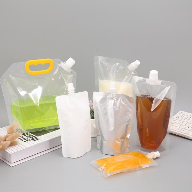 吸嘴式果泥包装机婴儿果泥包装机 给袋式液体酱料包装机