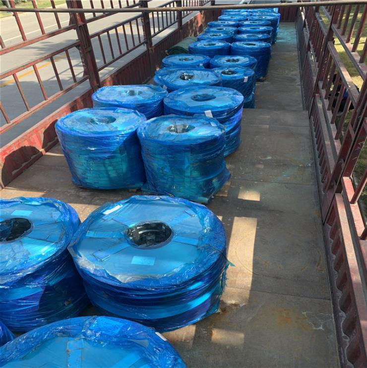 L物美價廉可配送到廠0.25*36mm橋梁用鍍鋅波紋管帶鋼