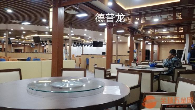 武汉商场通道入口弧形铝方通吊顶去哪里定制?