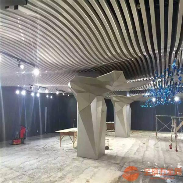 珠海造型弧形铝方通价钱合理支持定做