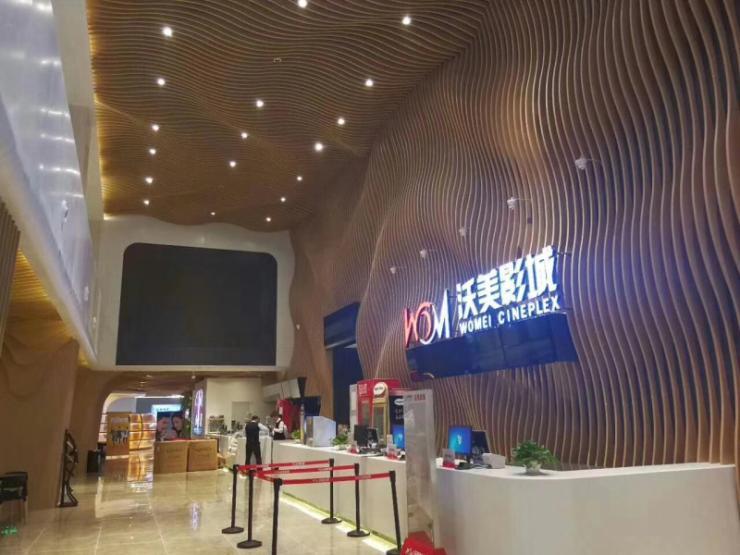 杭州餐厅酒店铝方通库存丰富价格合理