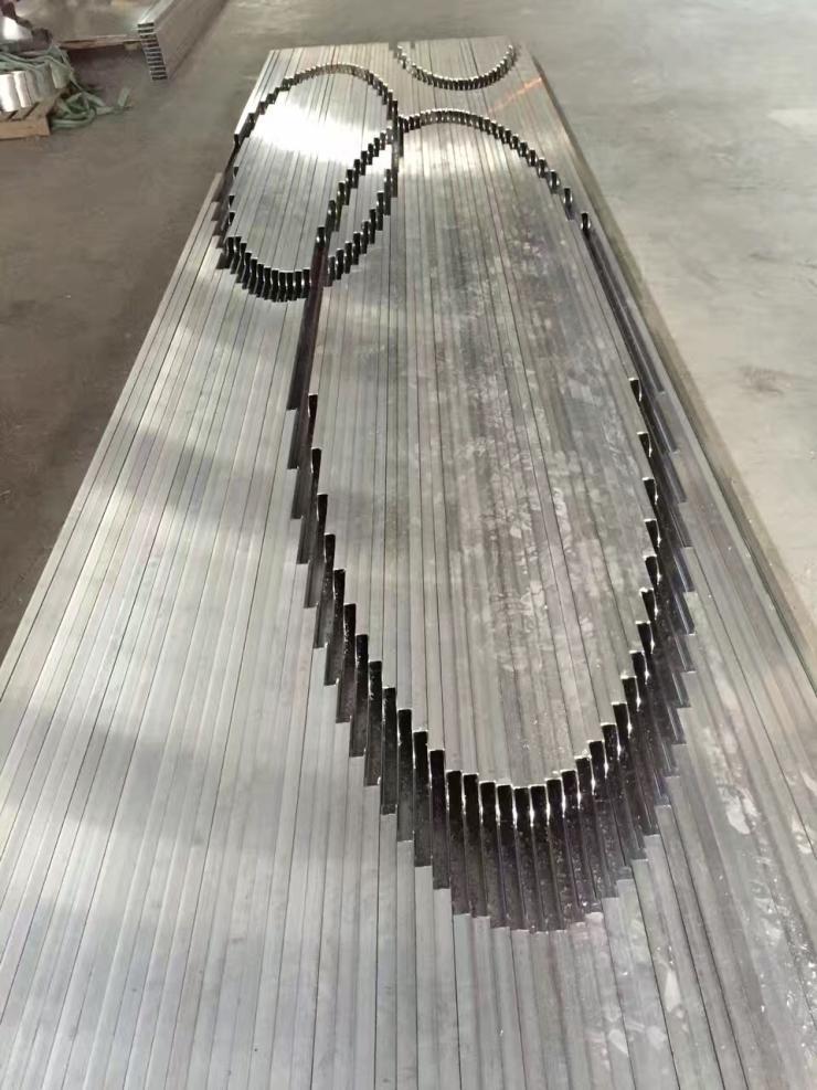 石家莊招牌門頭鋁方通隔斷廠家樣式多