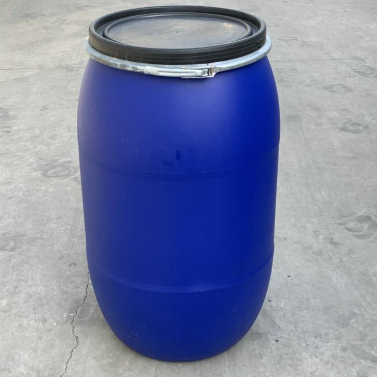 供应带法兰200升塑料桶200L广口塑料桶