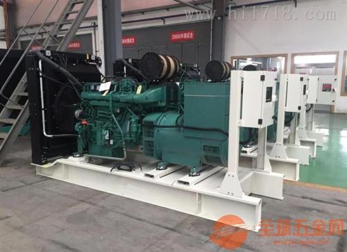 宁波沃尔沃发电机组维修价格