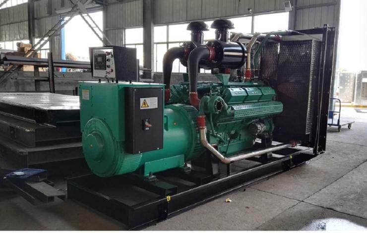 宁波250KW上海乾能全自动柴油发电机工厂价