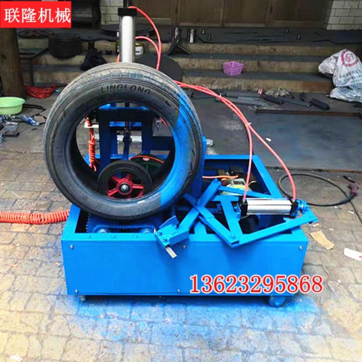 废旧轮胎割胎机全自动轮胎分解设备生产商