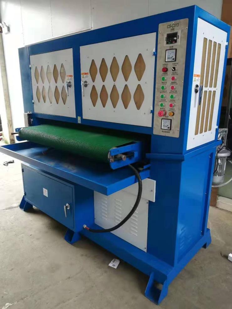 自动砂光机/平面砂光机/氧货皮砂光机/铁板砂光机/砂光机生厂商-新创胜机械