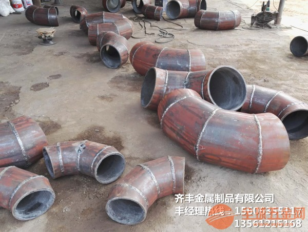直供山東聊城直供耐磨陶瓷復合管齊豐金屬