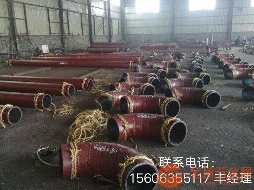 山东淄博衬瓷弯头陶瓷管直销-技术指标-性能参数-耐磨